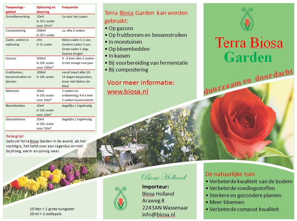 Garden Biosa