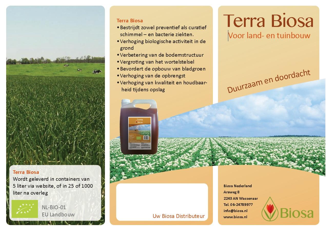 Terra Biosa flyer front