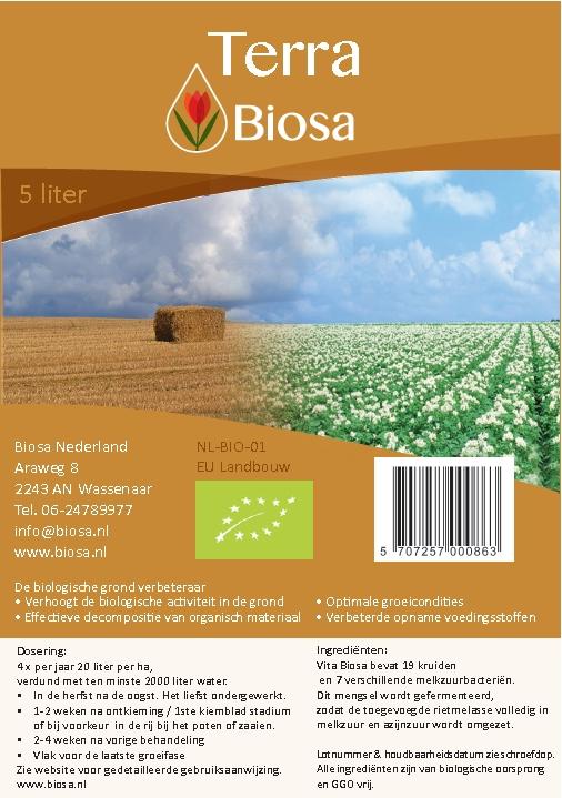 Terra Biosa label